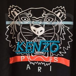 Kenzo Sweaters - KENZO Men's HYPER TIGER SWEATSHIRT BLACK NEW